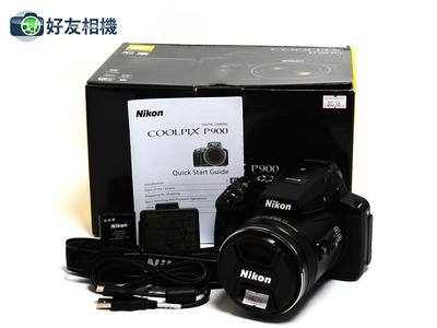 尼康 Coolpix P900 16.0MP 数码相机 83x  Zoom *99新连盒*