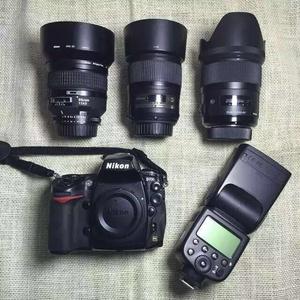尼康 D700 带三个镜头 95新