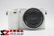 Sony/索尼 ILCE-6000 便携式机身可换镜头微单相机二手A6000套机