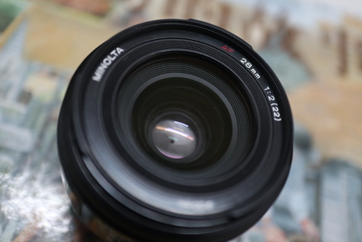 美能达A口镜头 28 2  28mm f2.0