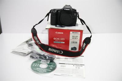自用闲置出售佳能 60D带包装