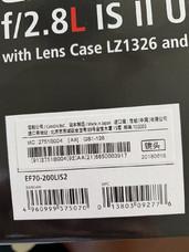 佳能 EF 70-200mm f/2.8L IS