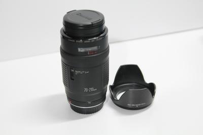自用闲置出售佳能 EF 70-210mm f/4(小小白前身)
