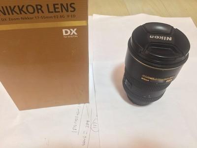 尼康 DX 17-55mm f/2.8G箱说全 编号45开头 2016年入的