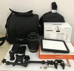 整套急售全新腾龙镜头17-35mm佳能口A037,