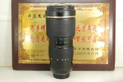 尼康口 腾龙 70-200 F2.8 A001 小龙炮 单反镜头 恒圈长焦人像
