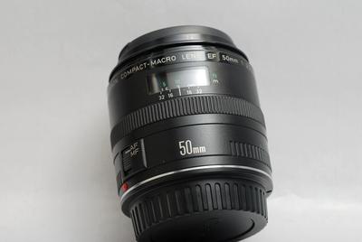 佳能 EF 50mm f/2.5微距【3147】98新