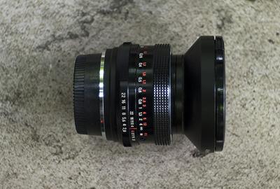 尼康口卡尔·蔡司黑铁版35mm/F2.8手动镜头