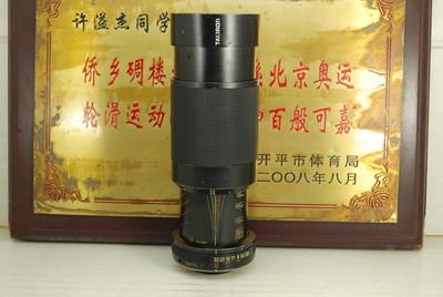 百搭口 腾龙 80-210 F3.8-4 Macro 手动单反镜头 中长焦 户外人像