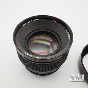 康泰时 Contax Y/C口 神镜 55mm/F1.2 100周年纪念版 极上品