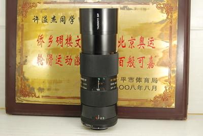 百搭口 腾龙 70-210 F3.5-4 Macro 手动单反镜头 中长焦人像