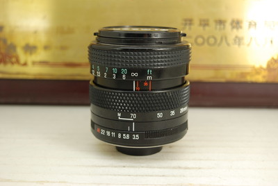 百搭口 腾龙 28-70 F3.5-4.5 TELE-MACRO 手动单反镜头 全幅挂机