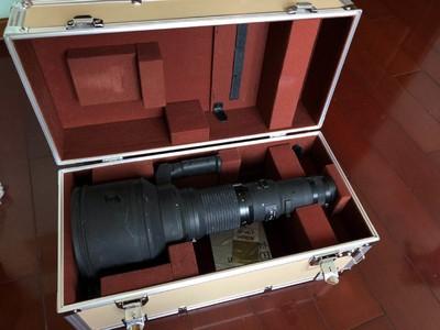 尼康 NIKKOR ED 600mm F4 恒定光圈 手动大炮 带铝箱