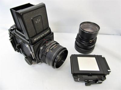 玛米亚 Mamiya RB67 ,一机两镜, 6X7画幅 中画幅相机