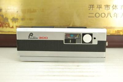 富士 FUJICA 300 Pocket 110胶卷机械相机 胶片机 收藏道具模型