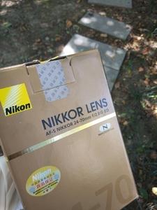 尼康 镜头 AF-S NIKKOR 24-70mm f/2.8G ED