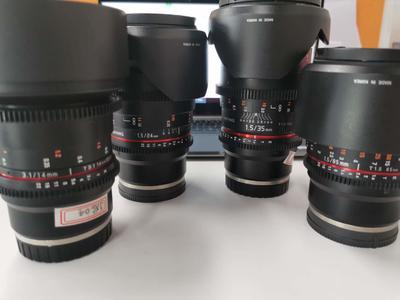 三阳 85mm T1.5