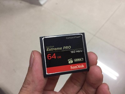 闪迪 至尊超极速CompactFlash存储卡(64GB+32GB),160MB/S
