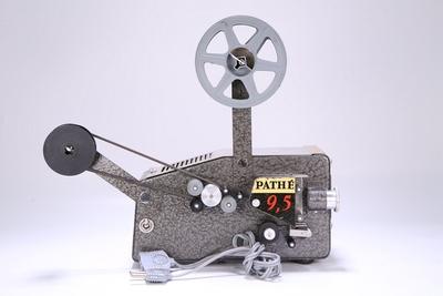 90新二手百代PATHE 9.5毫米古董老式电影机放映机回收 A12772
