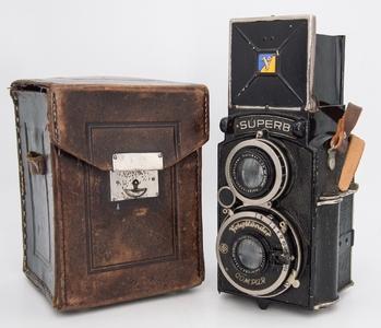 德国福伦达Superb Heliar镜头胶片双反相机