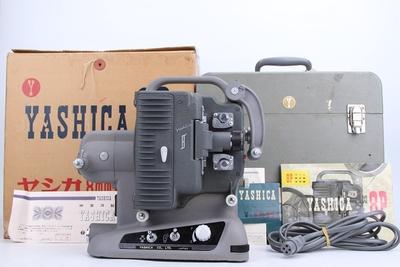 95新二手雅西卡Yashica8毫米8mm电影机放映机带原装箱回收 981132