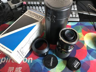 腾龙80-210mm f3.8 镜头 手动长焦头 全套带包装