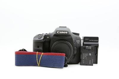 金典捡漏95新二手 Canon佳能 7D 单机 中端单反相机回收 004287