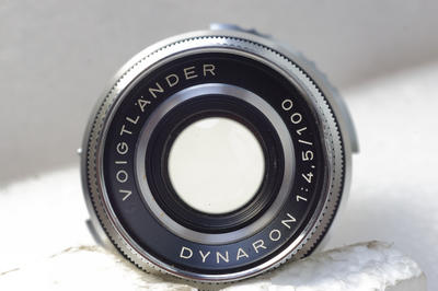 福伦达至尊 Voigtlander Prominent DYNARON 100/4.5镜头