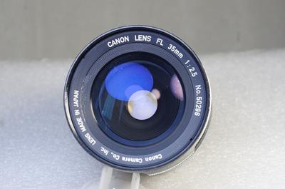 佳能 CANON FL 35/2.5 手动镜头