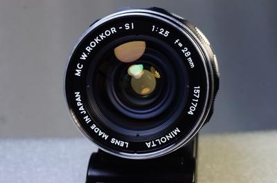 稀土玻璃美能达 MINOLTA MC 28/2.5 手动镜头