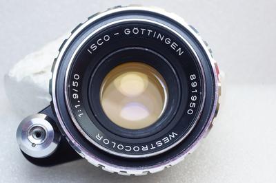 稀土镜片德国 ISCO WESTROCOLOR 50/1.9 斑马版手动镜头EXA口