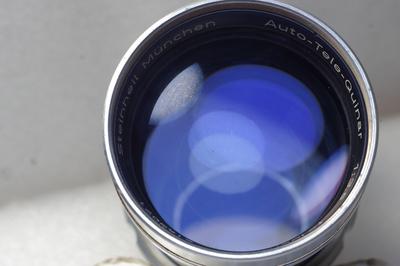 德国斯坦海尔Steinheil 135 3.5 Tele Quinar 135/3.5白银镜头