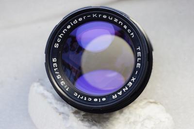 德国施耐德Schneider Tele-Xenar 135/3.5 电子版M42口多膜镜头