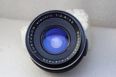 德国施耐德Schneider Curtagon 35/2.8 电子版M42口多层镀膜镜头