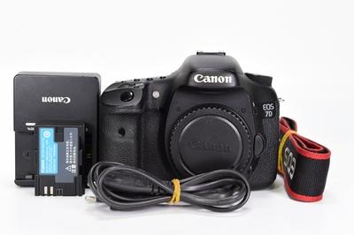 90新二手 Canon佳能 7D 单机 中端单反相机 回收无号