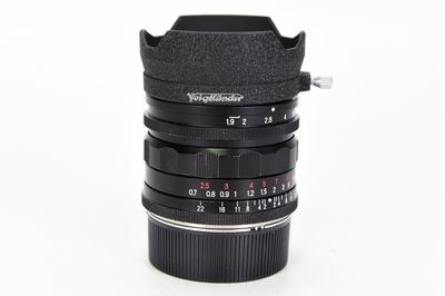 93新二手福伦达 28/1.9 M9螺口+M39转接环镜头回收 211601