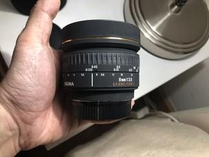 适马 SIGMA 8mm f/3.5 EX DG