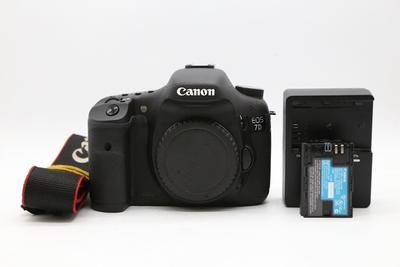 95新二手 Canon佳能 7D单机中端单反相机回收 007645