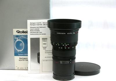 禄莱PQ75-150镜头 6008、6000系列、hy6用