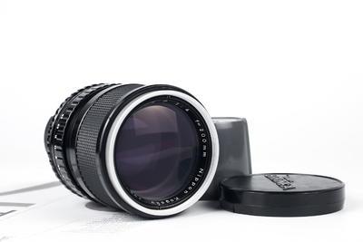 勃朗尼卡S2/EC镜头,200mm F4定焦镜头,原装前后盖,人像利器
