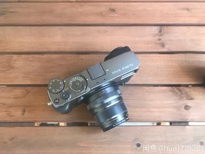 富士 X-Pro2石墨灰套机 23mm f2镜头