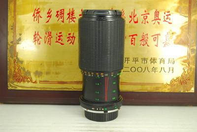 美能达MD口 MAKINON 80-200 F4.5 MC 手动单反镜头 恒圈中长焦