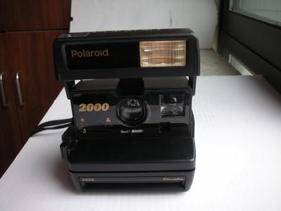 很新宝丽来2000一次成像相机,收藏使用