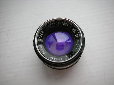 很新珠江58mmf2镜头,MD卡口,可转接各种数码与胶片相机