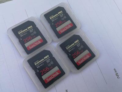 闪迪 sandisk 256G sd储存卡