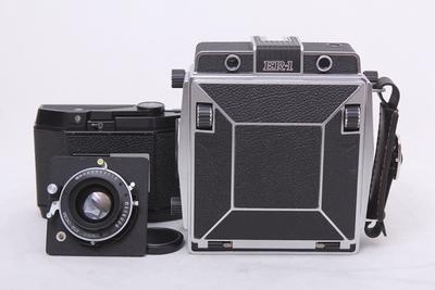 骑士HORSEMAN ER-1 +120/5.6镜头 +8exp/120背 6x9双轨相机 套机