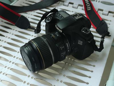 佳能 60D,17-85镜头+50mm 1.8标头