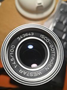 ISCO-Gottingen 100mm F4.5 EXA口镜头