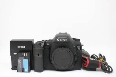 93新二手 Canon佳能 7D单机 中端单反相机回收 809807