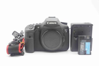 93新二手 Canon佳能 7D单机中端单反相机回收 720322